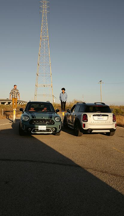 Der neue MINI COUNTRYMAN – MINI COOPER SE COUNTRYMAN ALL4 – Frontansicht