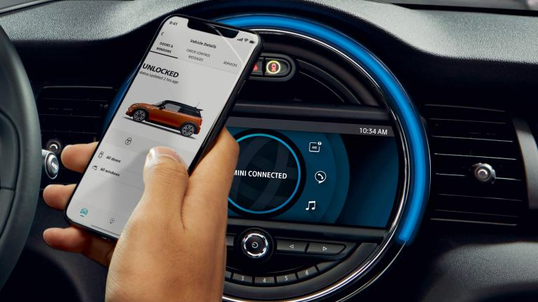 MINI Connected – Navigation – Mobiltelefon-App
