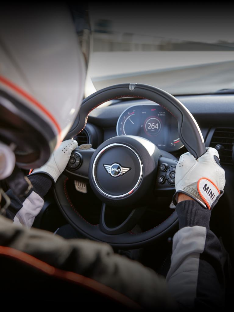 MINI John Cooper Works GP – Lenkrad – cockpit
