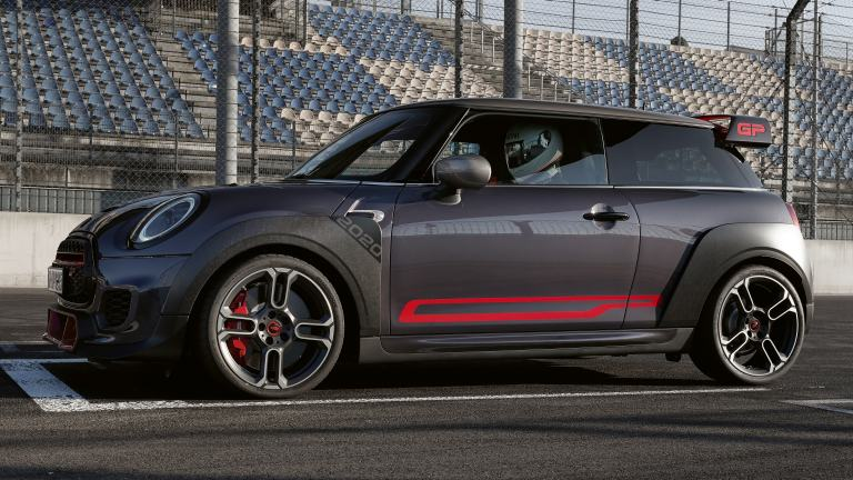 MINI John Cooper Works GP – Seitliche Zierelemente – Chili Rot
