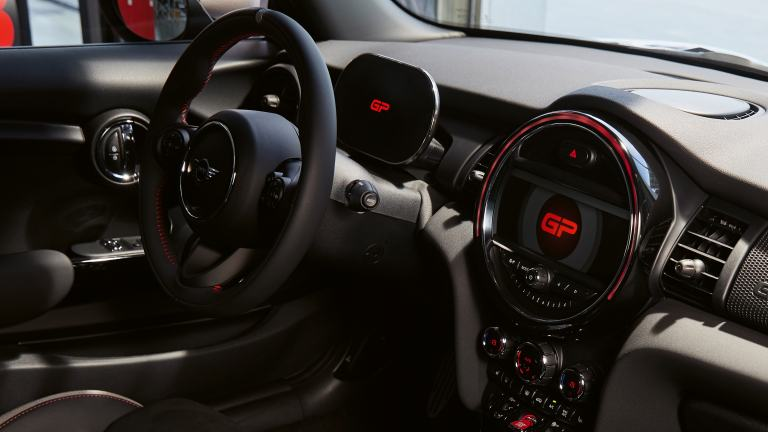 MINI John Cooper Works GP – cockpit – combiné d'instruments