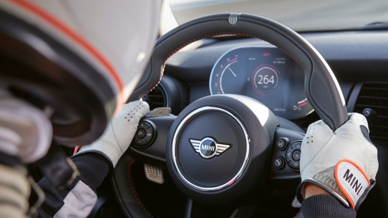 MINI John Cooper Works GP – volante – pelle walknappa